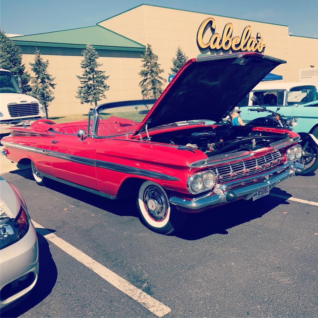 Cabelas And A Car Show Not Many More Manly Things To Do Than That - Cabela's car show