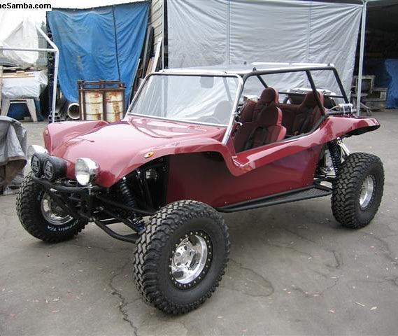 I think I would rather have a long travel Manx Buggy than a RZR. What do you think?