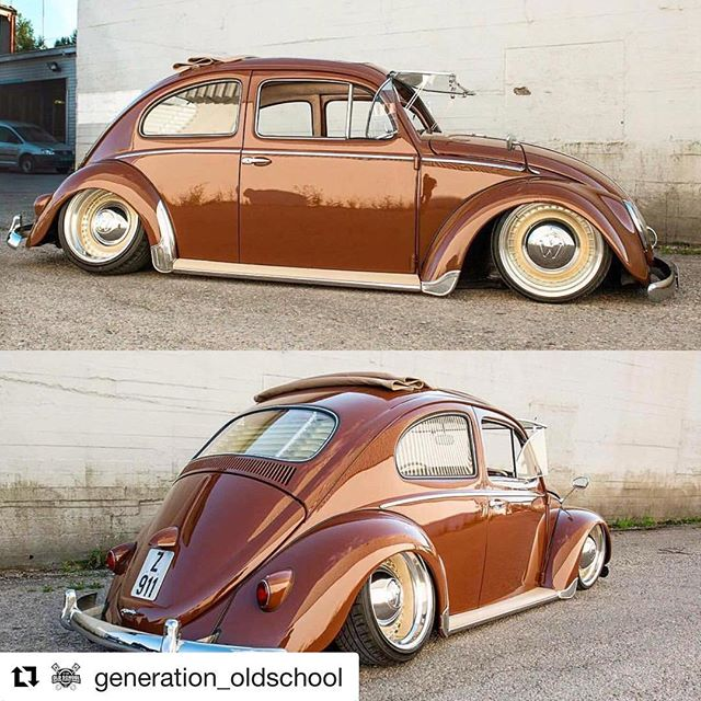 That is one bad bug @generation_oldschool with @get_repost ・・・ Name the model and year of this beauty. 🔔Follow @generation_oldschool 📷 @chskaret ___________________________________________________________ 👨💼 My personal IG: @leonardforever please go follow me 📺 Subscribe to us on YouTube (Link in bio) 💻 www.GenerationOldSchool.com | Link in our bio 👆 📩 DM us your oldschool car picture for a chance to be featured. 📸 DM us a picture wearing your Generation Old School T-shirt for a feature